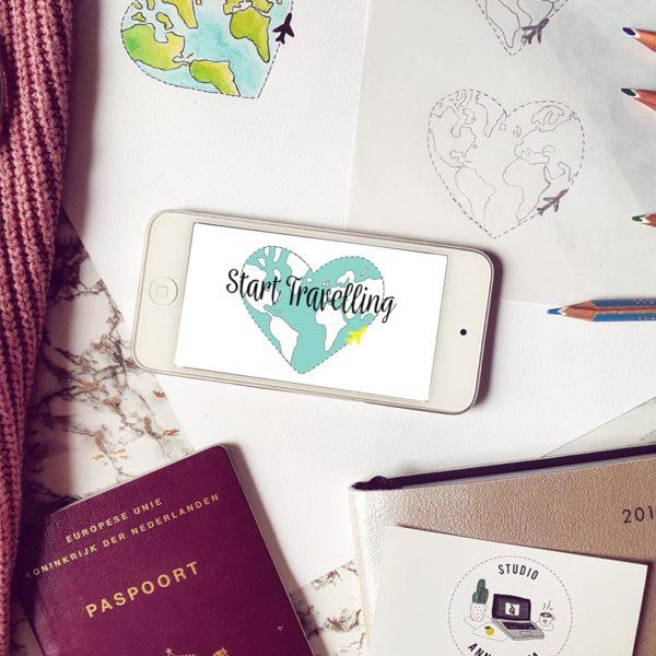 Logo ontwerp voor Start Travelling