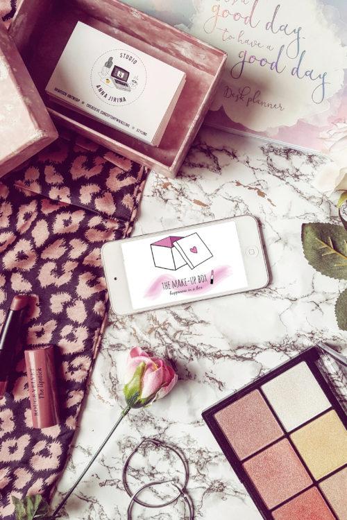Portfolio update #1: Mijn werk voor The Make-up Box