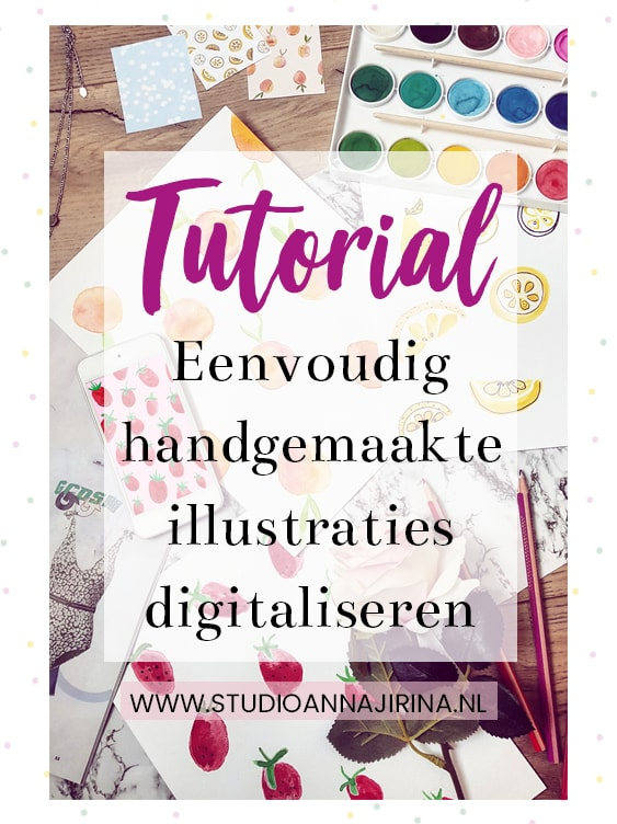 illustraties digitaliseren
