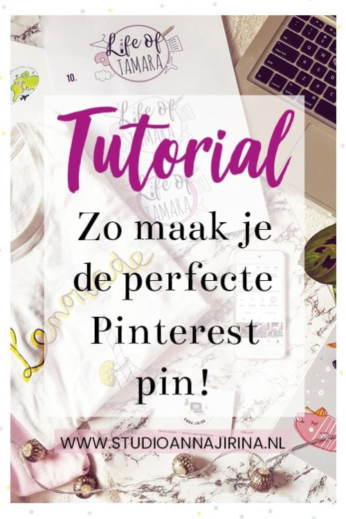 Tutorial: Zo maak je de perfecte Pinterest pin!