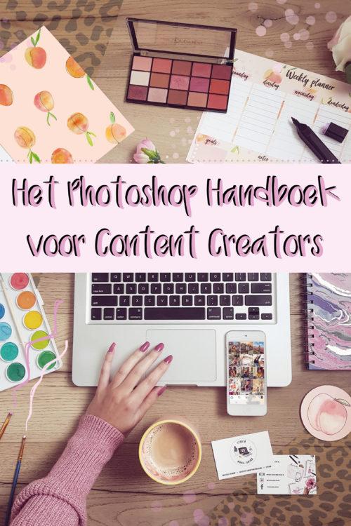 Alles over het Photoshop handboek voor content creators!