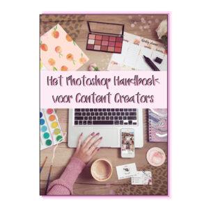 Het Photoshop Handboek voor Content Creators