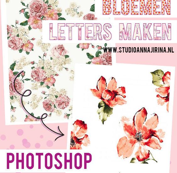 bloemen letters