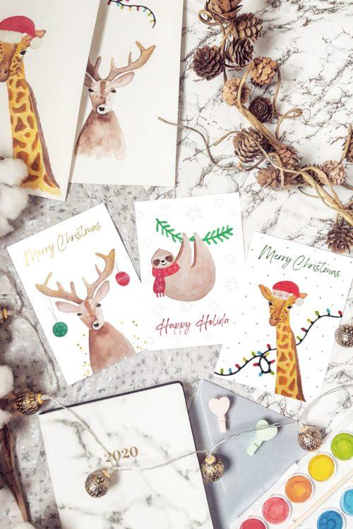 De Studio Anna Jirina kerstkaarten zijn nu verkrijgbaar!