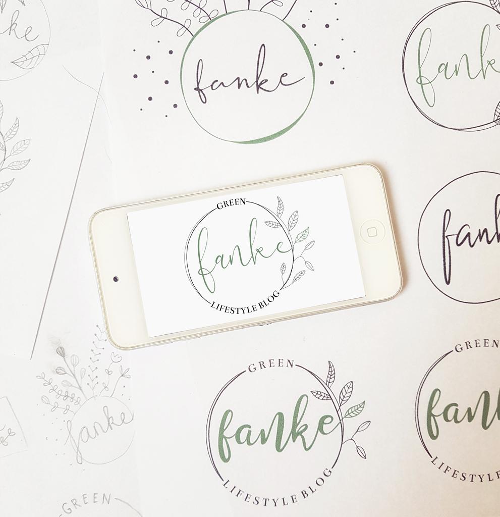logo Fanke studio Anna Jirina