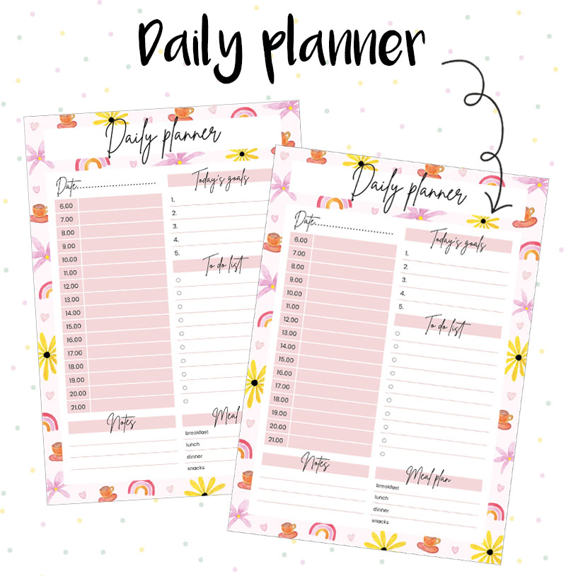 daily planner studio Anna Jirina