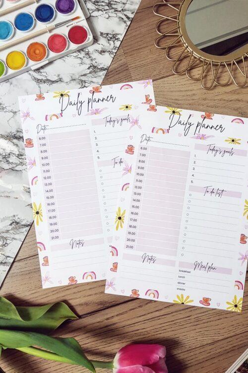 Download mijn nieuwe daily planner nu GRATIS!