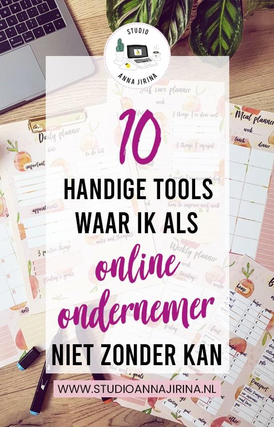 handige tools ondernemer