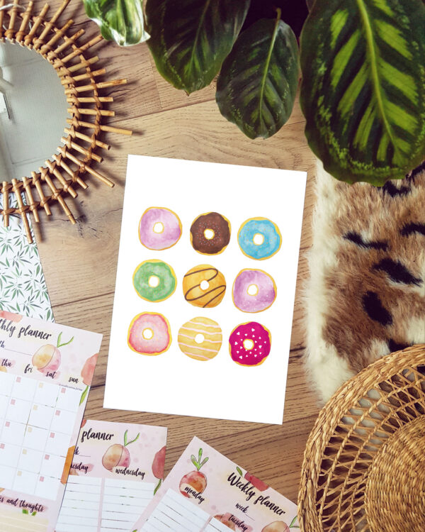 donut poster Studio Anna Jirina