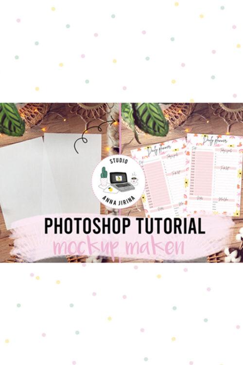 Photoshop tutorial: Snel een mockup maken
