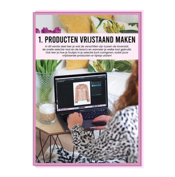 producten vrijstaand maken