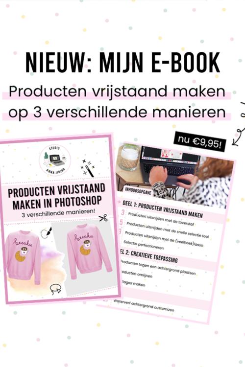 Mijn e-book 'Producten vrijstaand maken' is nu online!