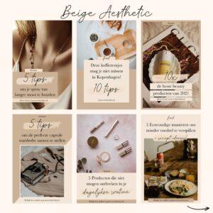 Pinterest template kit