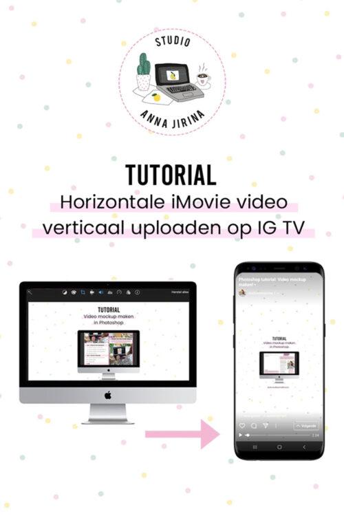 iMovie video IG TV