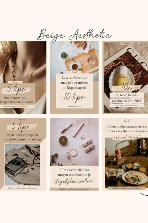 NIEUW: Mijn Pinterest Template Kits