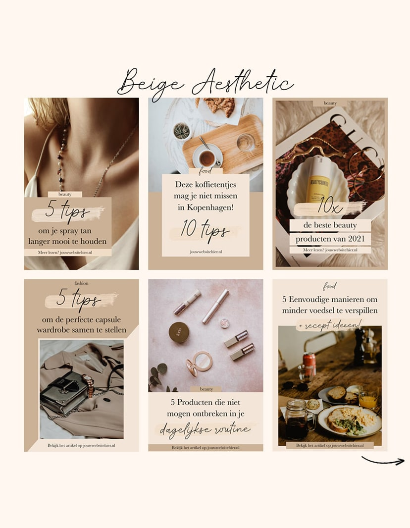 pinterest template kits