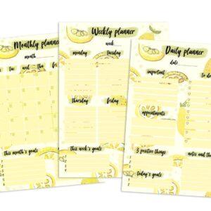 lemon planner kit